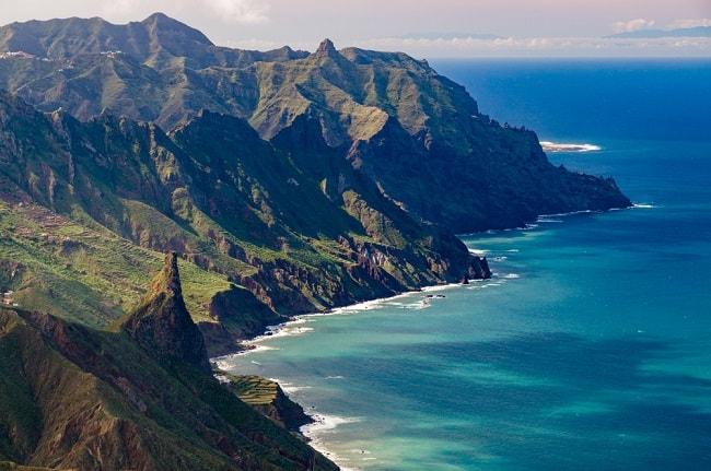 קו החוף באיים הקנריים