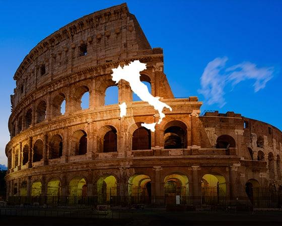הקולוסיאום ברומא איטליה