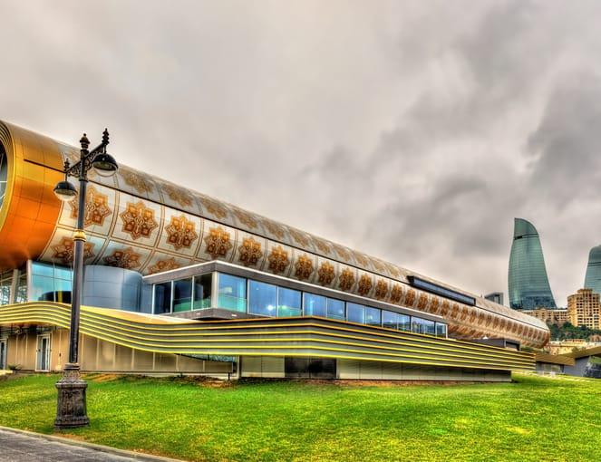 מוזיאון השטיחים באזרבייג'ן