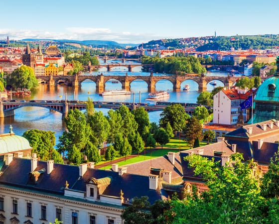 גשרים מעל לדנובה בטיול מאורגן לצ'כיה, סלובקיה, הונגריה, אוסטריה