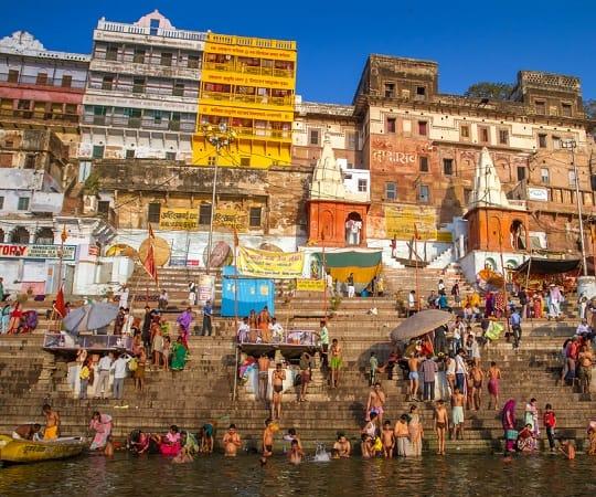 טיול מאורגן להודו - נהר הגנגס - DKC/DKH