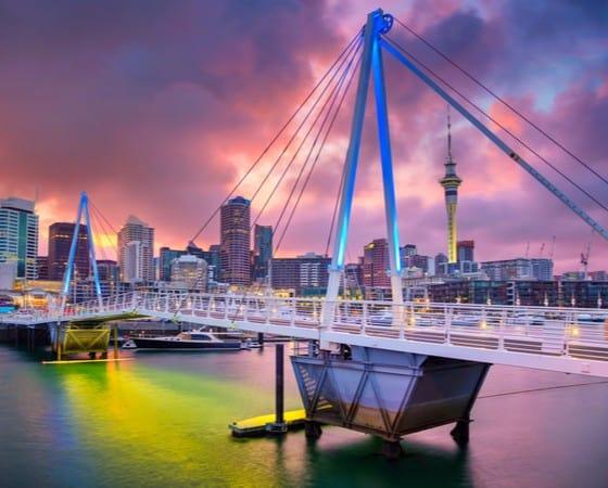 טיול מאורגן לניו זילנד ואוסטרליה - אוקלנד