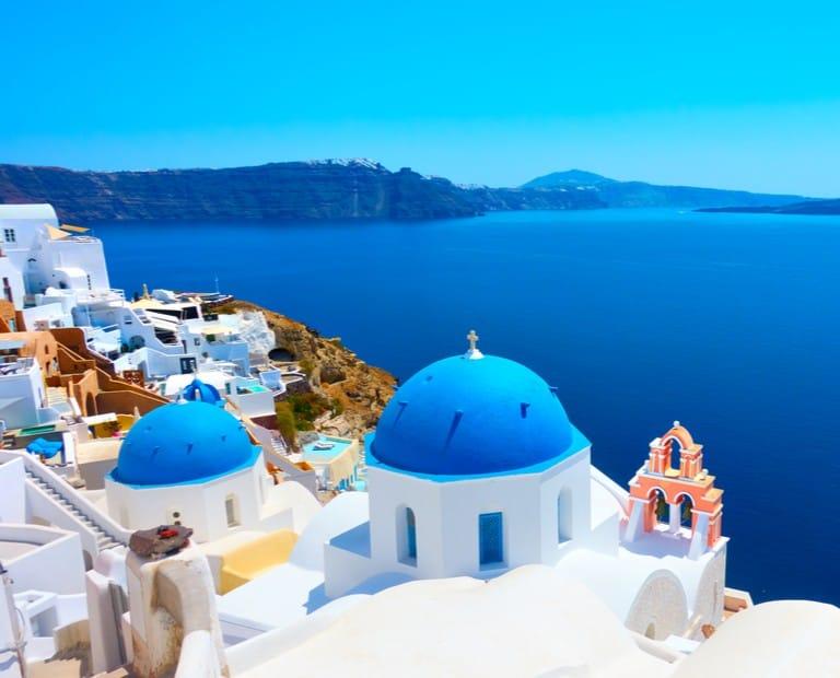 יוון - סנטוריני