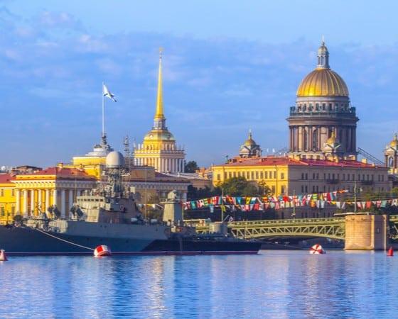 טיול מאורגן לרוסיה - מוסקבה וסנט פטרבורג - CFL