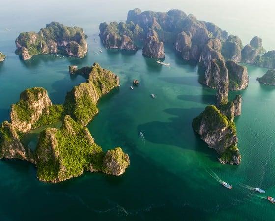 טיול מאורגן לוויטנאם וקמבודיה - האלונג ביי - BKC